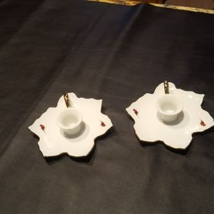 H.D. Ammerman Candle Stick Holders